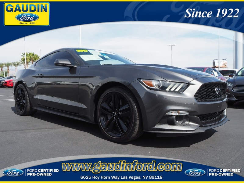 Certified Pre-Owned 2017 Ford Mustang EcoBoost