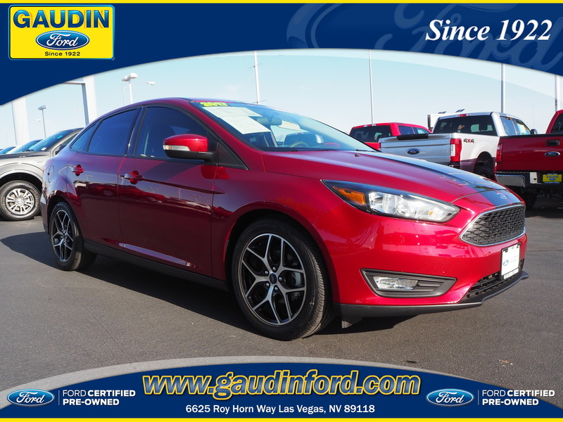 Certified Pre Owned 2017 Ford Focus Sel