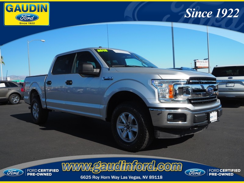 Ford Certified Pre Owned >> Certified Pre Owned 2018 Ford F 150 Xlt 4wd