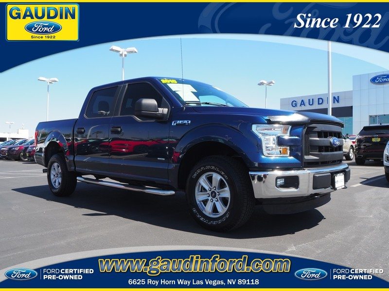 Certified Pre Owned Ford >> Certified Pre Owned 2015 Ford F 150 Xl 4d Supercrew In Las Vegas