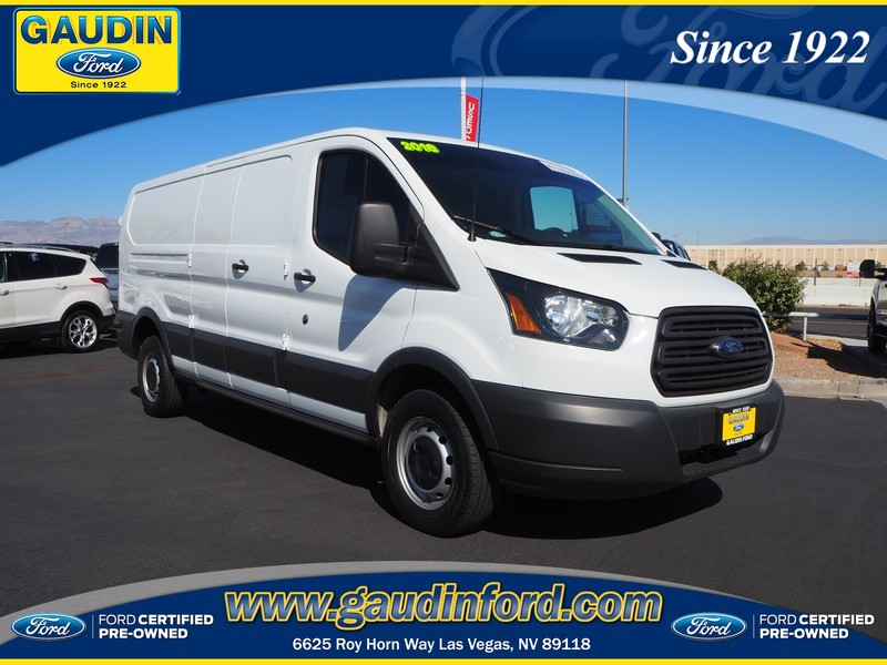 2016 Ford Transit >> Certified Pre Owned 2016 Ford Transit 250 Base Rwd 3d Low Roof Cargo Van