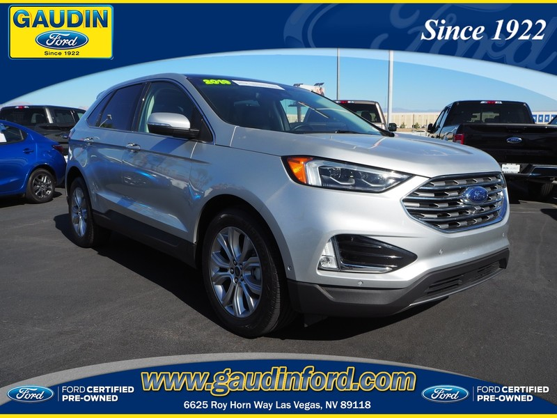 Ford Certified Pre Owned >> Certified Pre Owned 2019 Ford Edge Titanium Fwd 4d Sport Utility