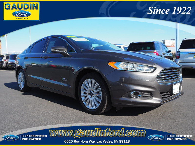 Certified Pre-Owned 2016 Ford Fusion Energi SE Luxury