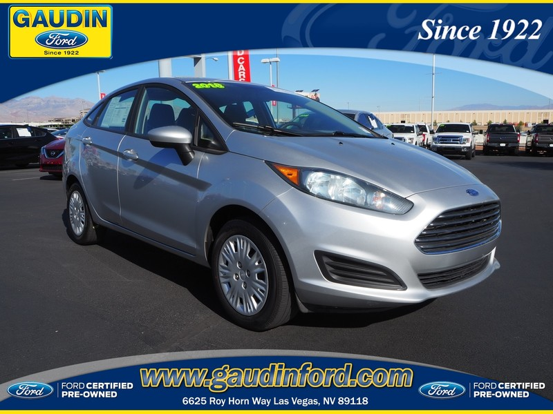Ford Certified Pre Owned >> Certified Pre Owned 2018 Ford Fiesta S Fwd 4d Sedan