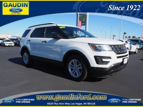 Certified Pre-Owned 2017 Ford Explorer Base